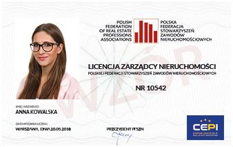 Licencja zarządcy nieruchomości